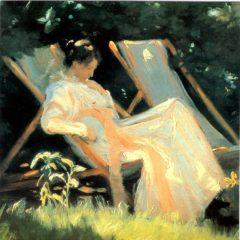 OCG306 The Garden Chair – of Peder Severin Kroyer