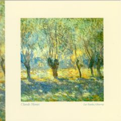OCG308 Les Saules Giverny – by Claude Monet