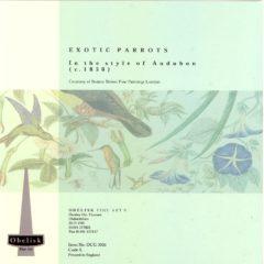 OCG3031 Exotic Parrots