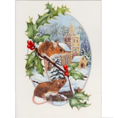 XCRL05 Winter Wildlife -Mice – by Roy Laming