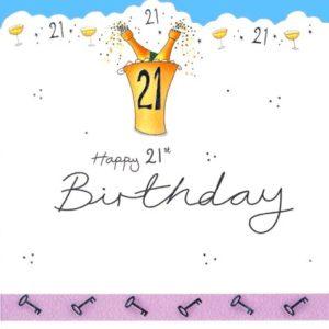 DC20 21 st Birthday – by Jo Scrivener artwork