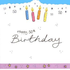 DC23 HB 50 Birthday by Jo Scrivener artwork