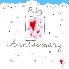 DC39 Ruby Anniversary – by Carol Clernon artwork