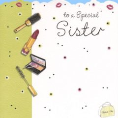 DCR09 To a Special Sister – by Carol Clernon artwork