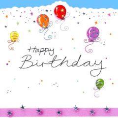 HB10 Balloons – Happy Birthday – by Jo Scrivener artwork