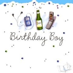 HB17 Birthday Boy – by Carol Clernon artist
