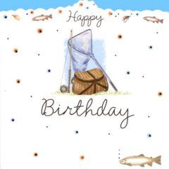 HB19 Fishing Birthday – by Carol Clernon artist