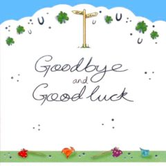 LDC06 Goodbye and Good Luck – by Jo Scrivener artist