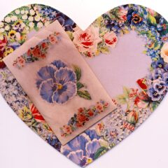 6902 1758 Heart Scented Sachet Note Card